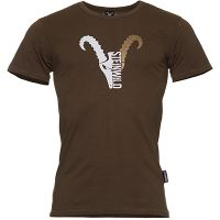 "Steinwild T-Shirt ""Logo"" goldbrown XS"