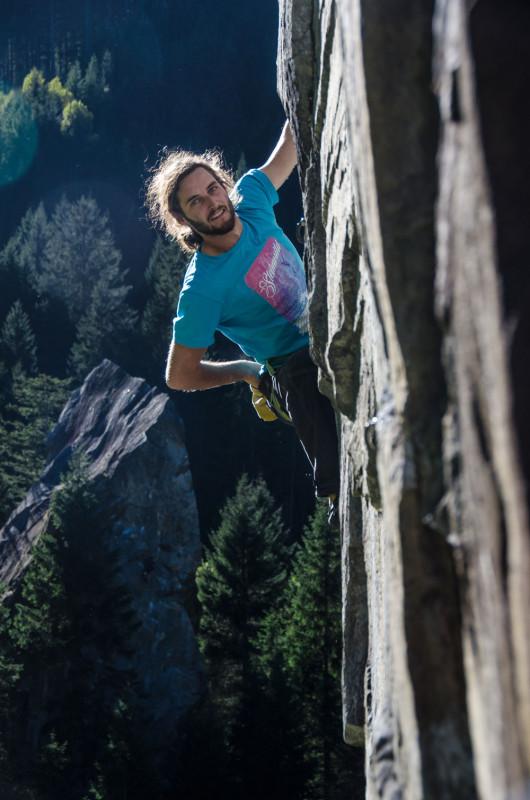 Steinwild T-Shirt Kletterer